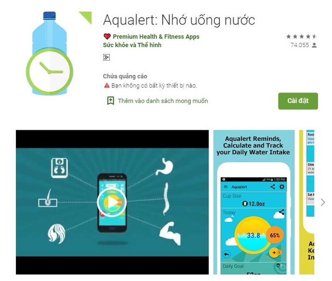 Top 5 ứng dụng nhắc nhở uống nước trên smartphone ảnh 4