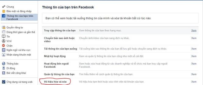 Hướng dẫn cách xóa vĩnh viễn tài khoản Facebook ảnh 1