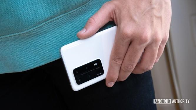 Huawei P40 Pro Plus: Cụm camera sau ấn tượng ảnh 2