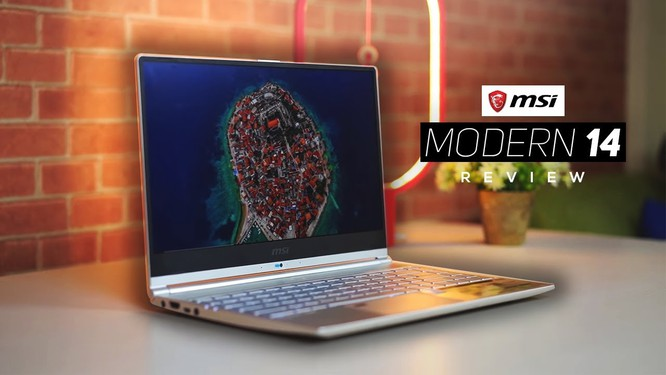 MSI Modern 14 vs Asus Zenbook 14 UX425: Laptop tầm trung cho dân văn phòng ảnh 2