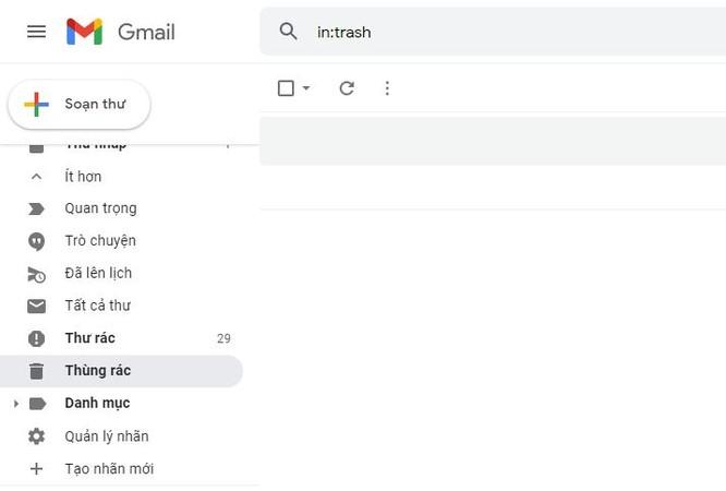Cách khôi phục email đã xóa trên Gmail đơn giản không phải ai cũng biết ảnh 1