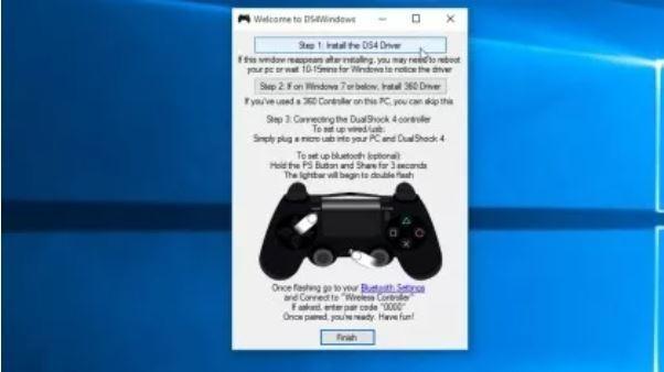 Hướng dẫn kết nối tay cầm PS4 với máy tính ảnh 2