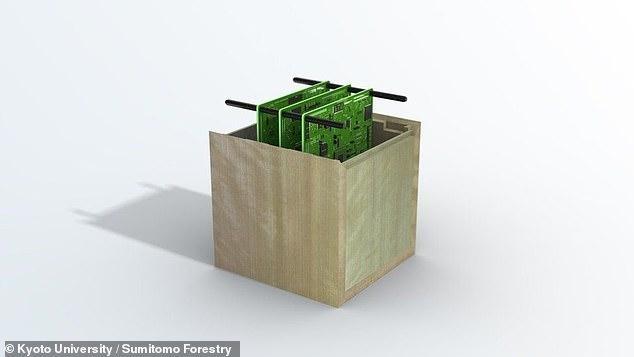 Một vệ tinh nhân tạo bằng gỗ đã được chế tạo để giảm lượng rác thải trên trái đất ảnh 1