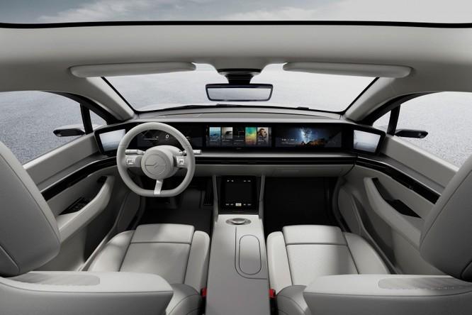 Chiếc xe concept tự lái của Sony đã chính thức được chạy thử nghiệm trên đường công cộng ảnh 1