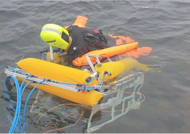Robot cứu hộ, có khả năng cứu người đuối nước một cách nhanh chóng ảnh 1