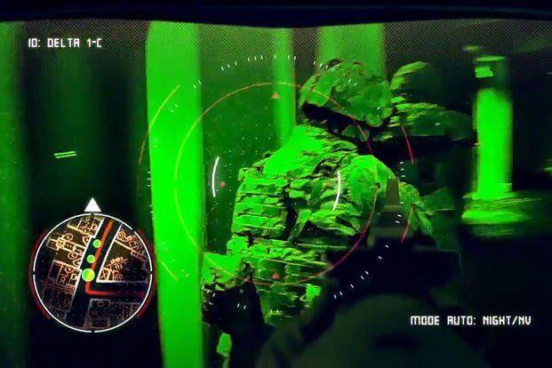 Kính bảo hộ mới của quân đội Mỹ cho phép binh lính nhìn xuyên vật thể ảnh 3