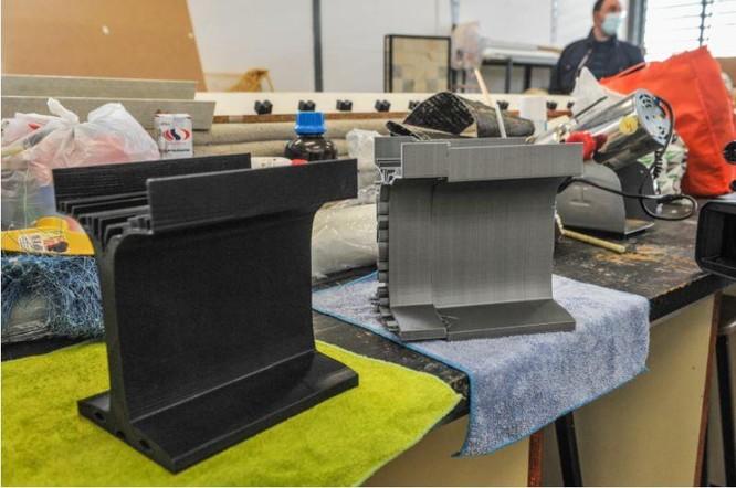 Phát triển thành công dầm bê tông làm từ công nghệ in 3D ảnh 1