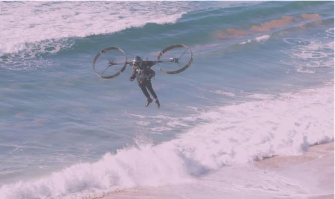 Video thử nghiệm thiết bị bay cá nhân ở Úc, bay như bộ giáp của Iron Man ảnh 1
