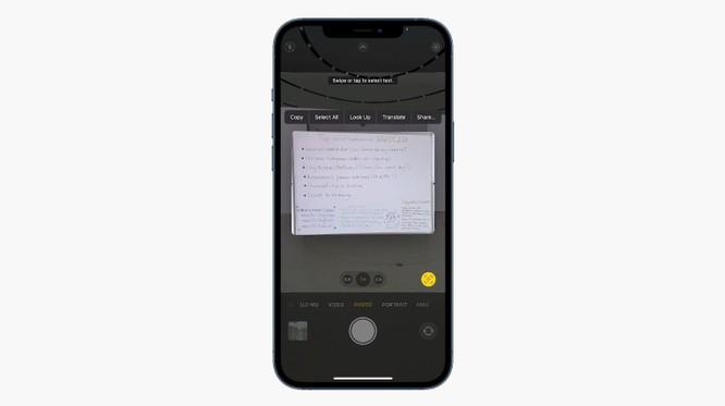 Tính năng mới giúp iPhone có thể đọc được tất cả văn bản trong ảnh chụp ảnh 1