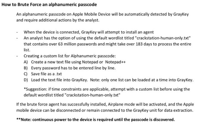 Cách thức bẻ khóa iPhone bằng công cụ GrayKey bị rò rỉ trên mạng ảnh 1