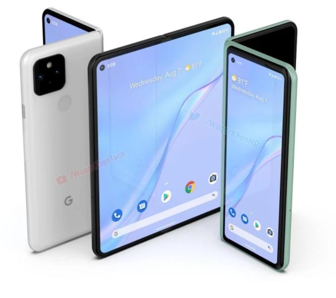 Thông tin mới nhất về ngày phát hành, giá, thiết kế, tính năng của điện thoại màn hình gập Google ảnh 2