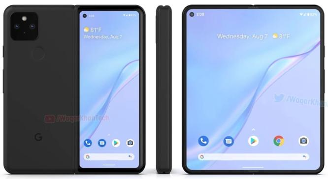 Thông tin mới nhất về ngày phát hành, giá, thiết kế, tính năng của điện thoại màn hình gập Google ảnh 3