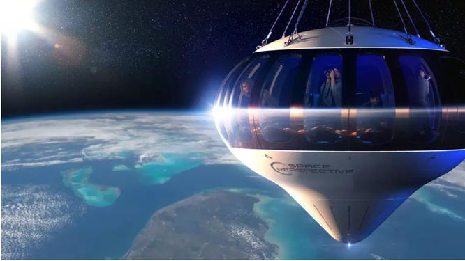 Du lịch không gian bằng khinh khí cầu giờ đây đã trở thành hiện thực ảnh 1