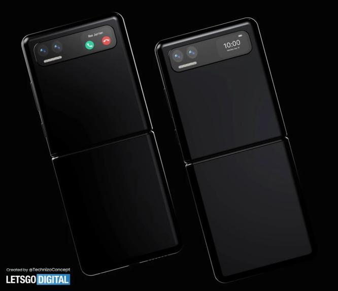 Những hình ảnh đầu tiên về chiếc smartphone màn hình gập dọc của Xiaomi ảnh 2