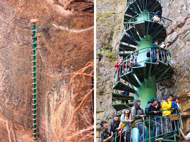 Thót tim chiêm ngưỡng 16 cầu thang nguy hiểm trên thế giới ảnh 6