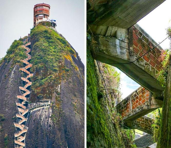 Thót tim chiêm ngưỡng 16 cầu thang nguy hiểm trên thế giới ảnh 2