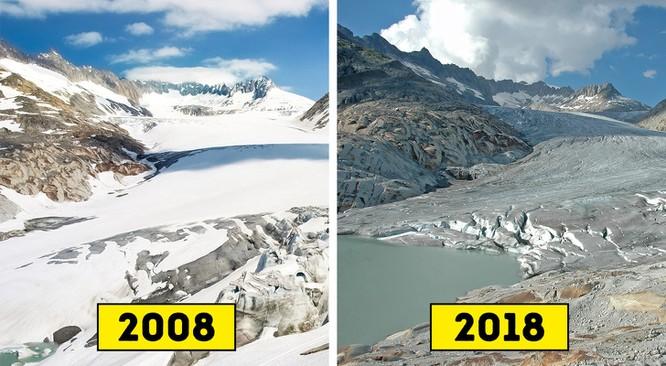 """Trái Đất đã thay đổi thế nào qua """"thử thách 10 năm""""? ảnh 1"""