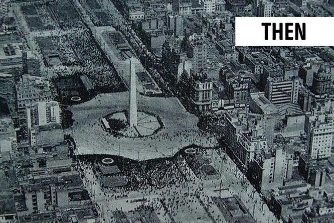 """13 thành phố trên thế giới đã """"thay da đổi thịt"""" theo thời gian ảnh 3"""
