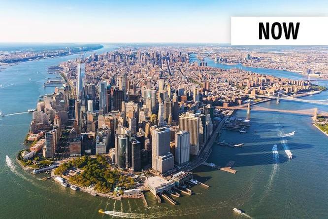 """13 thành phố trên thế giới đã """"thay da đổi thịt"""" theo thời gian ảnh 26"""