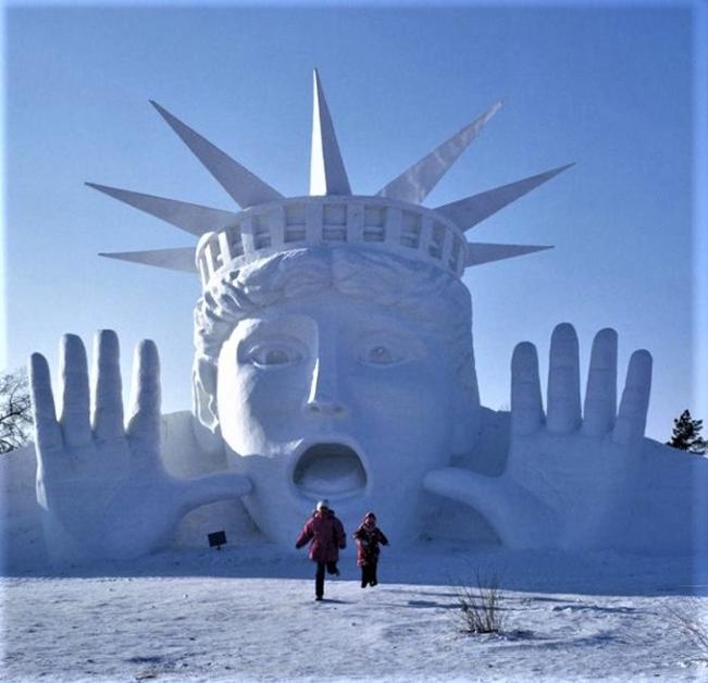 Chiêm ngưỡng 24 tác phẩm điêu khắc băng tuyệt đẹp trên thế giới ảnh 7