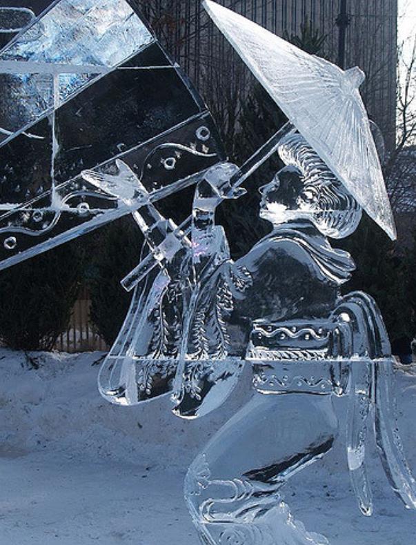 Chiêm ngưỡng 24 tác phẩm điêu khắc băng tuyệt đẹp trên thế giới ảnh 13