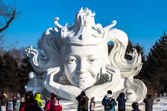 Chiêm ngưỡng 24 tác phẩm điêu khắc băng tuyệt đẹp trên thế giới ảnh 3