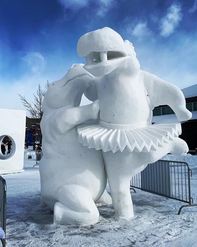 Chiêm ngưỡng 24 tác phẩm điêu khắc băng tuyệt đẹp trên thế giới ảnh 12