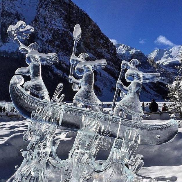 Chiêm ngưỡng 24 tác phẩm điêu khắc băng tuyệt đẹp trên thế giới ảnh 2