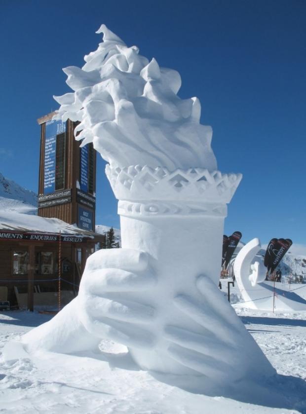 Chiêm ngưỡng 24 tác phẩm điêu khắc băng tuyệt đẹp trên thế giới ảnh 9