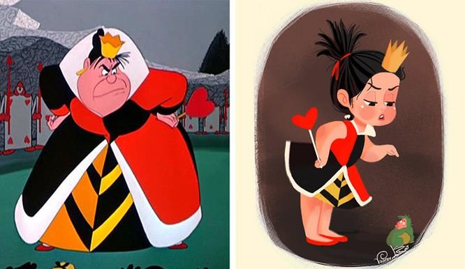 Tái hiện các nhân vật phản diện của Disney qua nét vẽ chibi ngộ nghĩnh ảnh 4