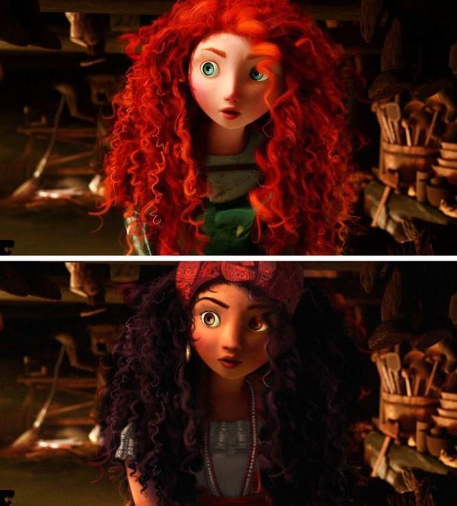 """Những nàng công chúa Disney """"lạ lẫm"""" trong phong cách hoàn toàn mới ảnh 10"""