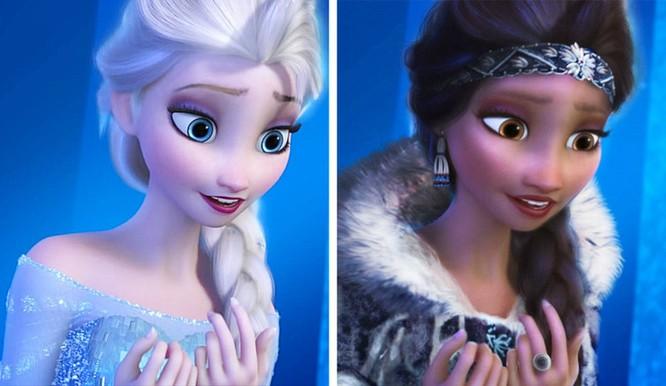 """Những nàng công chúa Disney """"lạ lẫm"""" trong phong cách hoàn toàn mới ảnh 1"""