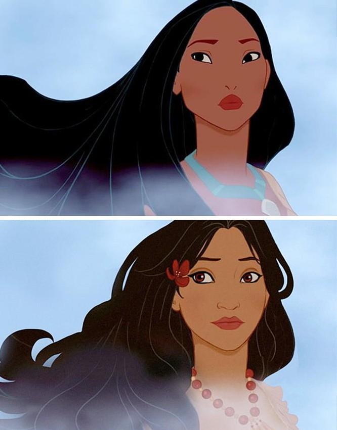 """Những nàng công chúa Disney """"lạ lẫm"""" trong phong cách hoàn toàn mới ảnh 2"""