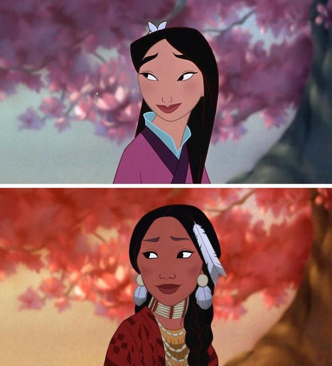 """Những nàng công chúa Disney """"lạ lẫm"""" trong phong cách hoàn toàn mới ảnh 11"""