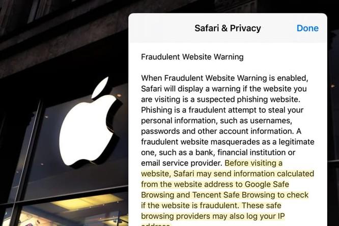 """Apple nói gì về """"nghi án"""" chia sẻ dữ liệu người dùng với bên thứ 3? ảnh 1"""
