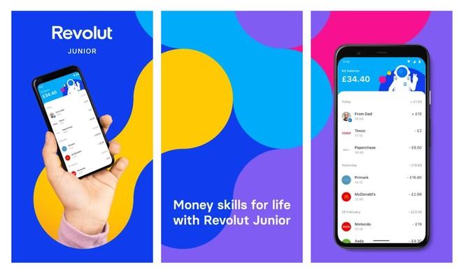 Revolut ra mắt ứng dụng quản lý tiền bạc cho trẻ em ảnh 1