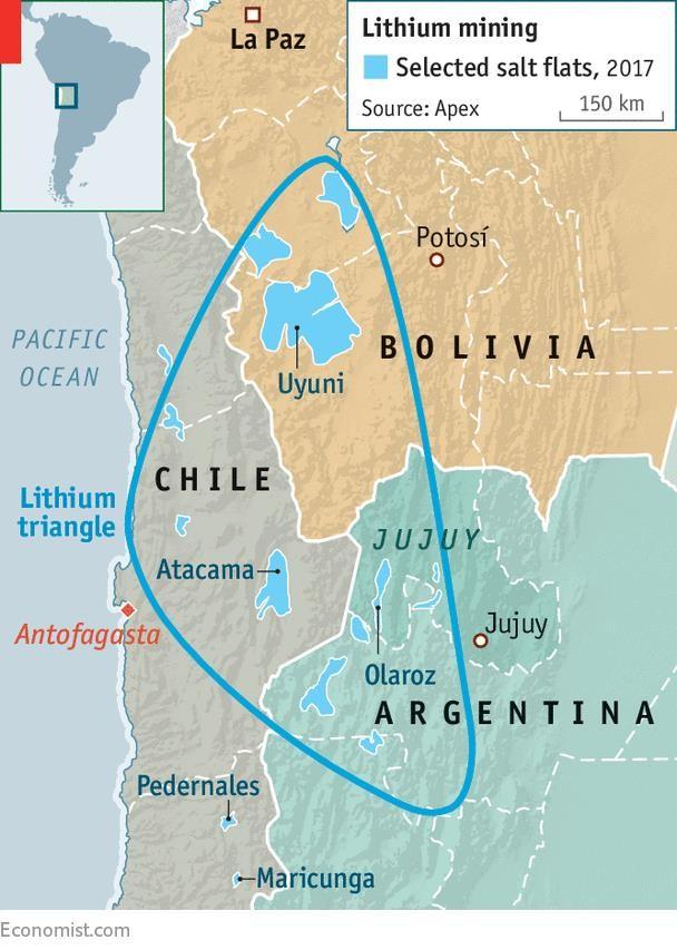 Cuộc chiến địa kinh tế nhằm tranh giành tài nguyên chiến lược Lithium ở Bolivia ảnh 1