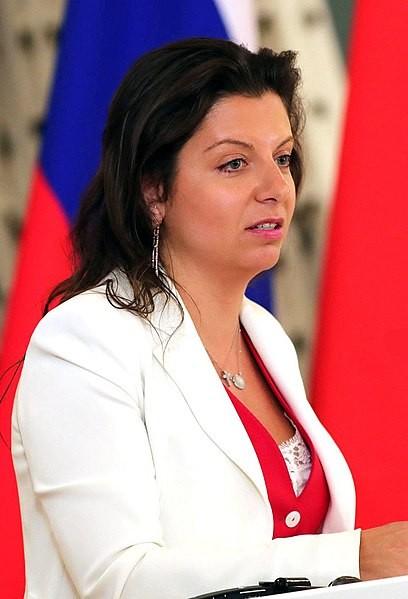 Margarita Simonyan, Tổng biên tập Hãng thông tấn