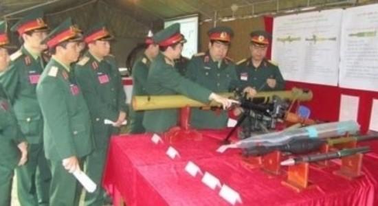 Súng chống tăng RPG-29 và đạn do Việt Nam tự sản xuất