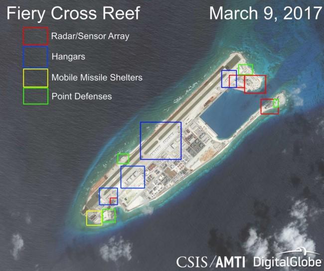 Lầu Năm Góc lo lắng về đảo nhân tạo, tên lửa, tàu ngầm Trung Quốc ảnh 1