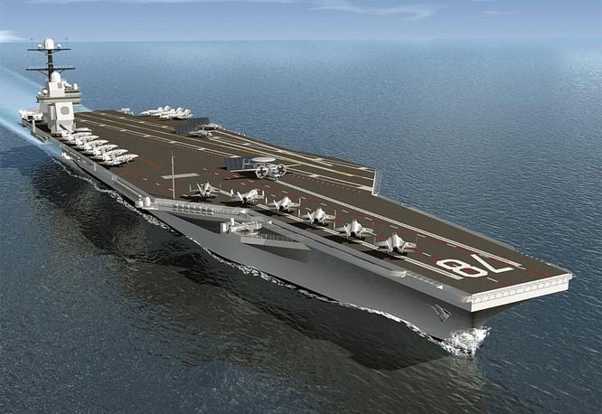 Siêu tàu sân bay USS Geradl Ford CVN-78 của Hải quân Mỹ