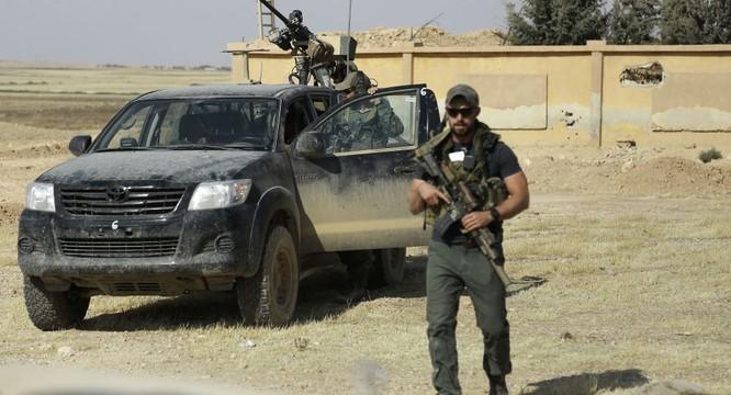 Lính đặc nhiệm Mỹ có mặt ở miền bắc Syria