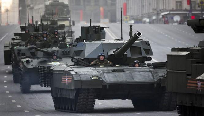 Siêu tăng Armata sắp được sản xuất loạt và trang bị cho quân đội Nga