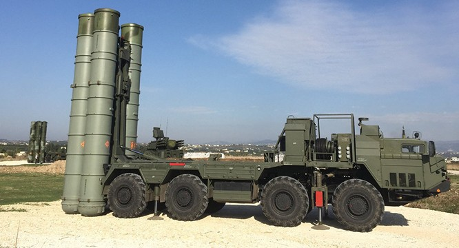 Nga đã triển khai hệ thống tên lửa phòng không S-400 tại chiến trường Syria