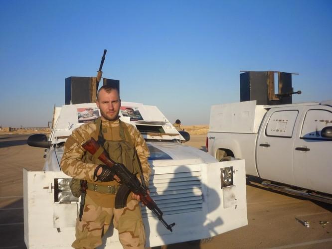 Một lính đánh thuê người Nga