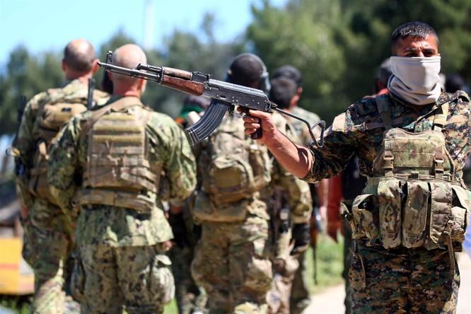 Lực lượng người Kurd đang chiếm giữ khoảng 35% lãnh thổ Syria