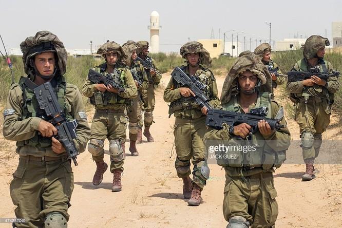 Binh sĩ quân đội Israel