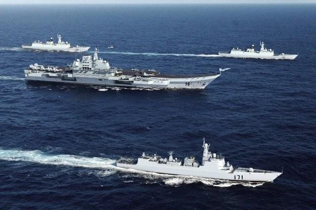 Trung Quốc xây dựng cụm tác chiến tàu sân bay rập khuôn mô hình Mỹ