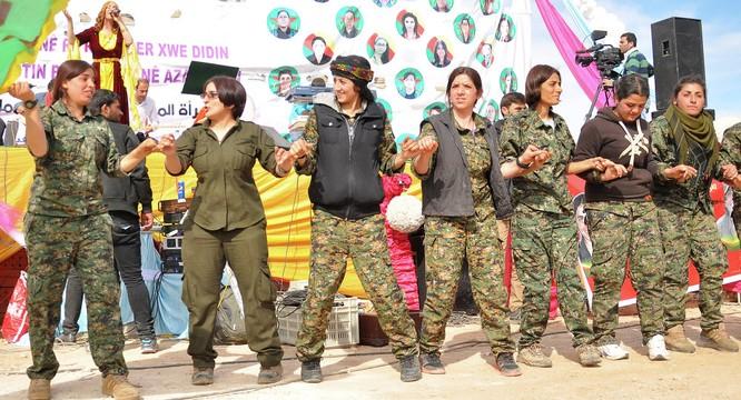 Lực lượng người Kurd Syria được Mỹ hậu thuẫn rất mạnh