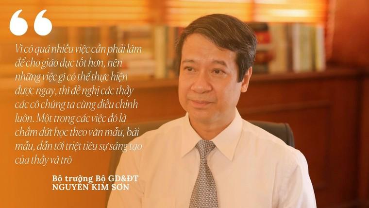 Từ yêu cầu mới nhất của Bộ trưởng Nguyễn Kim Sơn, cần thẳng tay dẹp bỏ nạn văn mẫu ! ảnh 1